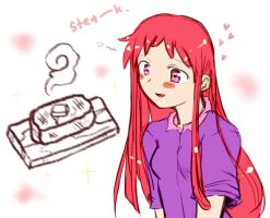 Ojamajo Doremi - steak all day by maia-7