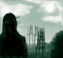 The Rogue and the Pylons by Destro7000