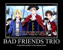 Bad Friends Trio Proven by Cat101495