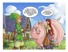 Economic Crisis in Hyrule by Bakke