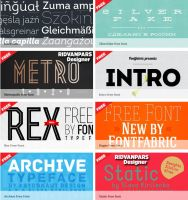 Fontfabric Fonts Collection | RdwN by RdwN