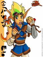 Jak and Daxter by geN8hedgehog