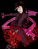 Yunakuchi - Dancing with Roses by WhiteMink