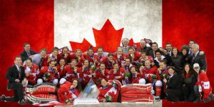 Team Canada womens hockey header by Musicislove12