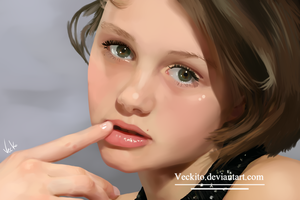 Realistic - Model Girl by Veckito