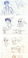 Loric Doodles by 16AngelWing16
