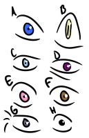 Anime Eyes Poll by catgirl9696