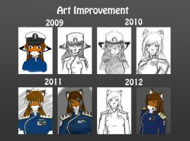 Art Improvement: Rebecca Skies by ConkerBirdy