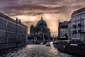 Berlin Evening by ZuzkaSlaninka
