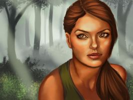 TRO Lara Portrait by saccharinesweet