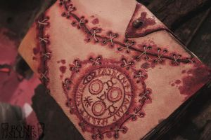 Handmade Leather Silent Hill Journal2 (AUCTION) by gutterface