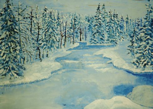 The Winter by HelaLe
