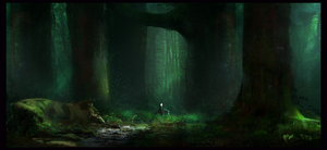 Forest (2) by Xdeathwingx