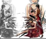 Ada  Wallpaper_Reflection by BlacknessAffection