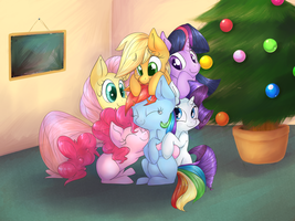 Hearth's Warming Eve - Commission by lilfaux