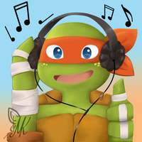 Music Mikey by RukiChitsuki69