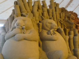 Sand sculpture 3 by Hoppiej