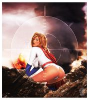 Powergirl in Peril by ROCINATE