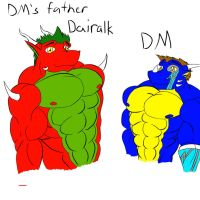 DM and father by DragonMaster616