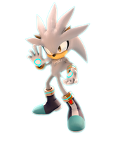 Silver The Hedgehog (Upgreaded) by FinnAkira