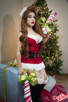 LoL: Candy Cane Miss Fortune V by CookieKabuki