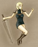 Clare - Claymore by gegemac