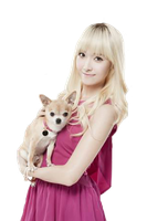 Jessica Jung w/ dog PNG by yoonaddict150202
