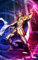 Saint Seiya - Death Mask of Cancer by GENZOMAN