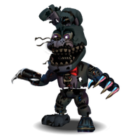 Nightmare Bonnie Accurate by YinyangGio1987