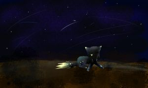Lonely Night by nightpooll