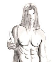 Sephiroth by Pookystar
