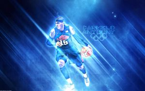 Carmelo Anthony Team USA Wallpaper by rhurst
