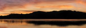 Lipno Lake panorama by Andenne