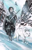John Snow by MonkeyFire99