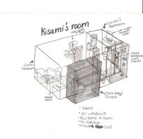 Kisame's room layout by anaisrandom