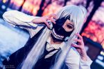 Ken Kaneki by Lady-Eilnys