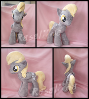 MLP FiM: Derpy Hooves plushie by Rasaliina
