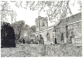 Cranford Village Church by Scribe1969