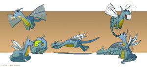 A Litter of Baby Dragons by Kmadden2004