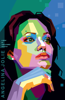 Angelina Jolie in WPAP by toniagustian