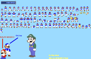 8 bit SMG4 Sprite Sheet by kingnoel