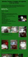 Teemo's Head tutorial  from League of Legend by polkajolka