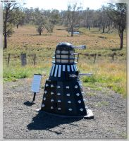 Dalek Mail Box by JohnK222