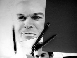 Dexter Morgan by enigmatic-freak