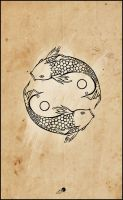 fish yin yang II by johngiannis27