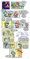 Mario: Alone at Home Pg 01 by saiiko