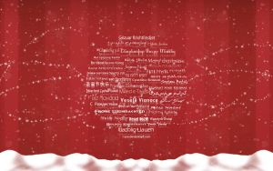 Merry Christmas - Typography by wellgraphic