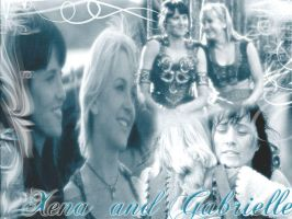 Xena and Gabrielle by Evenstar87