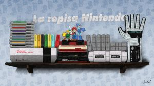 La repisa Nintendo New Art by heavycarcass