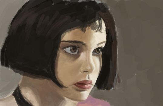 Leon The Professional study by wla91